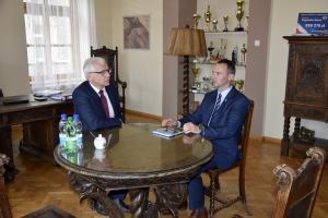 Wojewoda Dolnośląski z wizytą w Boguszowie-Gorcach