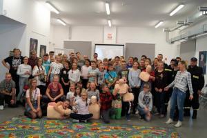 Mieszkańcy Boguszowa-Gorc bili rekord w jednoczesnej resuscytacji