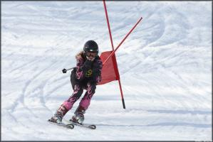 Zawody narciarskie na Dzikowcu :)