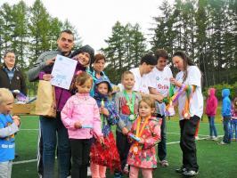 Rodzinne igrzyska na Orliku