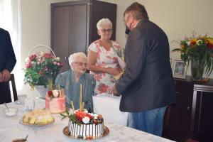 100. rocznica urodzin mieszkanki Boguszowa-Gorc