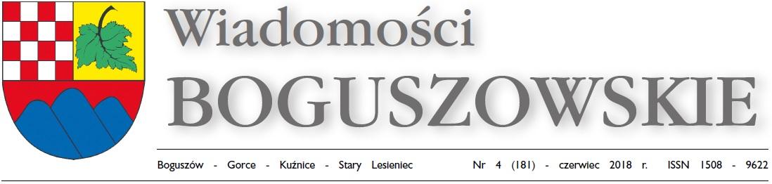 Wiadomości Boguszowskie - czerwiec 2018